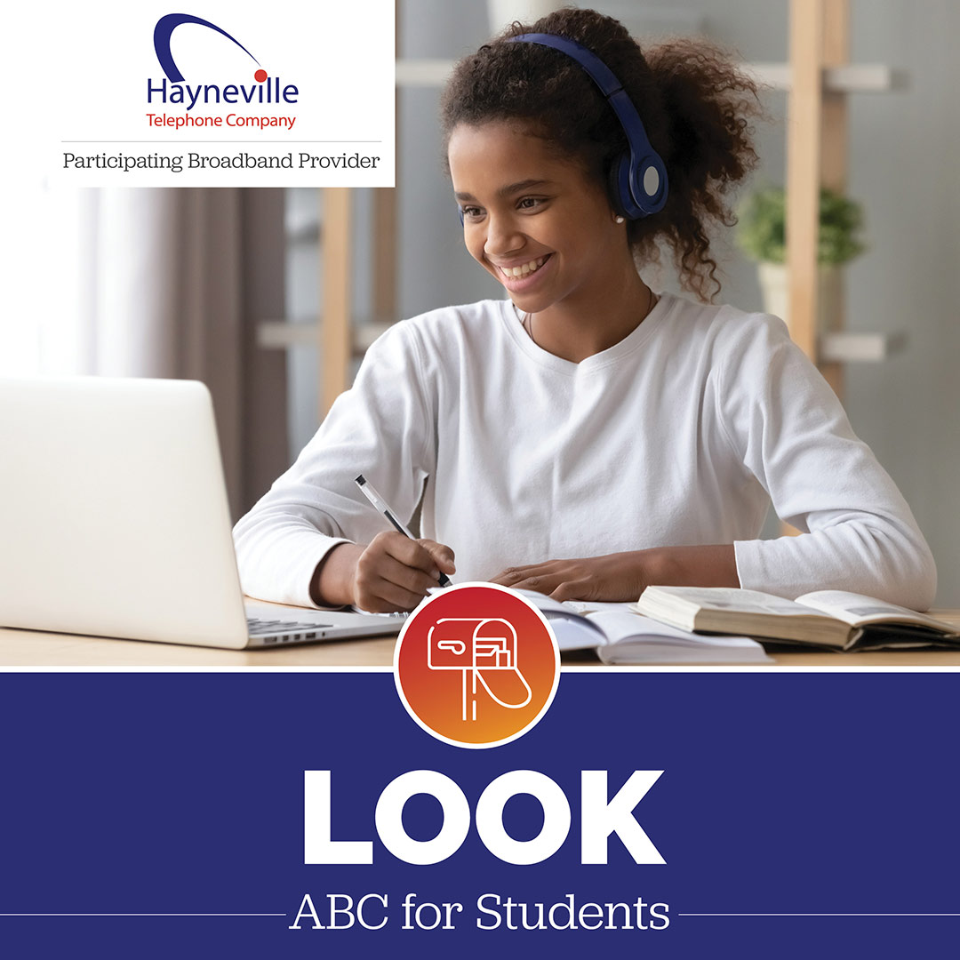 Hayneville Telephone ABC For Student Look